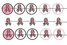 "#54 FIGHTING CANCER 1"" PRE CUT BOTTLE CAP IMAGES SCRAPBOOKING CRAFT PROJECTS"