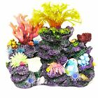 Realistic Coral Reef Aquarium Novelty Fish Tank Tropical Marine Ornament.