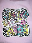 Hot Gift Southern Chics Funny Lil Girl Spoiled Mama Toddler Youth Bright T Shirt