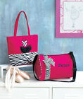 She Could Have Danced All Night - w/This Zebra DANCE TOTE or DUFFEL BAG New