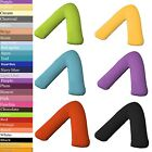 New Polycotton Orthopaedic, Nursing and Maternity V shape Pillow or Case Cover