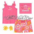Girls 3 3T 4 4T NWT Gymboree WILD FOR ZEBRA Outfit Sunglasses Tank Top Shorts