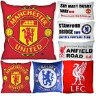 Filled Cushions 18x18 and 11x18 Football Logo and Street Sign Fibre New Printed