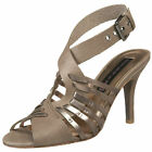 Steve Madden New $140  Margi Strappy Leather Sandals      9.5    Heels