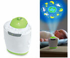 Homedics Baby toy Cot Wall Ceiling Projector SoundSpa Sounds Musical Lullaby