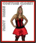 Moulin Rouge Fancy Dress Costume Vegas Showgirl Burlesque Hollywood Can Can