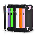 Heavy Duty Rugged Hard Case Phone Cover for Samsung Galaxy Note2 II N7100+Stylus