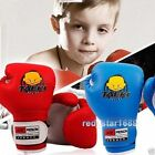Kids Children Kickboxing MMA Muay Thai Training Punching Bag Boxing Gloves