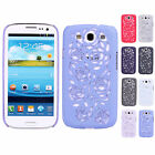 Hollow Pierced Tempt Rose Snap Shell Case Cover For Samsung Galaxy S3 SIII i9300