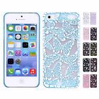 Stylish Hollow Pierced Butterfly Hard Snap Back Case Cover For Apple iPhone 5/5S