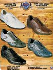 Wild West Men's Casual Lace Up Ostrich/Fashion Sneaker Shoes Diff. Colors