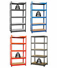 FoxHunter 700W Boltless 5 Tier Heavy Duty Garage Storage Steel Shelving Racking