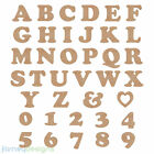 """MDF Cooper Style 6mm thick wall mounted letters - 15cm to 30cm - 6"""" to 12"""""""