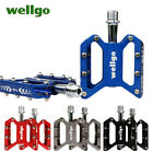 Brand Wellgo F18 Bike Bicycle Pedals BMX Downhill Aluminum Aloy 4 Colors Choice