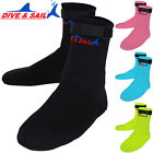 3mm Neoprene Booties Anti-slip Snorkeling Diving Socks Boots Water Footwear XS-L
