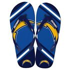 San Diego Chargers NFL Football2013 Team Big Logo Unisex Beach Flip Flop Sandals $7.99 USD