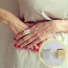 Women's Fashion Gift Jewelry Punk Style Cool Simple Design Square Band Ring