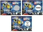 Lego City-Undercover- Birthday Party Favors -  Scratch Off Tickets!  (x12 ct)