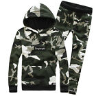 Unisex Harem Military Camouflage Sweatsuit Sport Casual  Dance Long Sleeve A Set