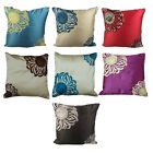 """Beautiful Embroided Serena Cushion Covers Available in Various Colours 18"""" x 18"""""""