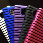 Samsung Galaxy S2 Sii Dual Layer Hybrid Defender Case Bumper Shock Proof