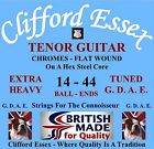 CLIFFORD ESSEX TENOR GUITAR  STRINGS. FOUR (GDAE) STUDIO STRINGS. BRITISH MADE. for sale