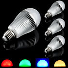 2.4G Wireless Milight Dimmable RGB + Warm White E27 9W LED Light RGBW Bulb Lamp