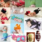 Baby Girls Boy  Knit Crochet Mermaid Minnie Clothes Photo Prop Outfits Popular