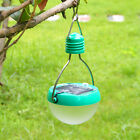 Outdoor Solar Power LED Super Bright White Light Camp Tent Lantern Lamp