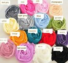 FD353 Candy Women Girl Thin Long Crinkle Design Soft scarf shawls Wrap Stole 1PC