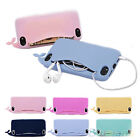 Big Mouth Whale Rubber Soft Case Cover Card Holder For iPhone 4/4S/5/5S Hot B54U
