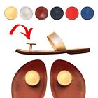 Paduka Sandals ~ Unique Leather Toe Post Womens New Shoes Flats Flip Flop Thong