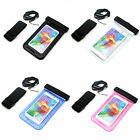 Waterproof & Armband Strap Dry Bag Touch Pouch Skin Case Cover for Cell Phones