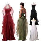 Multi Colors Ball Gown Evening Prom Party Wedding Bridal Dress 8 Size US 2~16