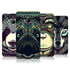 HEAD CASE AZTEC ANIMAL FACES 3 HARD BACK CASE COVER FOR HTC ONE