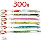1-10pcs 10.5oz 300g Fishing Speed Jigs Vertical Trolling knife Lures Baits Hook