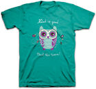 New Kerusso Christian Religious GOD is GOOD Owl The Time Women's Adult T-Shirt