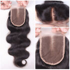 Lace Closure Hair 100% Unprocess Brazilian Virgin Human Hair Wigs Top Closure