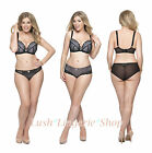 Curvy Kate Roxie Black Padded Plunge Bra, Short and Thong *Mix&Match* NEW