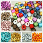 Wholesale Oval/Tube Colors AB Acrylic Loose Spacer Beads Jewellery Craft DIY