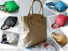 Top Woman Designer Large Leather Style Tote Shoulder Bag Satchel Ladies Handbags
