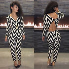 New Clubwear Sexy Backless Cocktail Party Onepiece Bodycon Jumpsuits Dress Pants