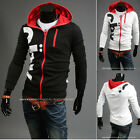 NEW Stylish Men/Boys Printed Slim Fit Sexy Top Designed Hoodies Jackets Coats