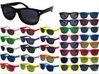 Kids Wayfarer Sunglasses Dark Lens Shades Boys Girls Childrens Retro 100% UV400