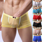 2014 Newest Sexy Mens See-through Stretchy Underwear Boxer Brief Bottom Lingerie