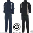 Nike Men Tracksuit Full Zip Suit Joggers Navy Black All Sizes 481265