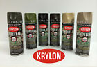 Krylon Camouflage Spray Paint - Set of 3 cans only - Olive and choice of 2 other