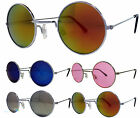 Mens Womens Small Round Lennon Style Sunglasses Various Colours UV400 BNWT