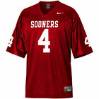 Nike Oklahoma Sooners Home #4 Football Jersey