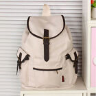 Preppy Style Vintage Drawstring Backpack Men Women Canvas School Bag Travel bag
